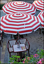 restaurant umbrella
