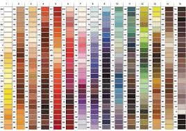 fabric color charts