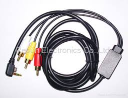 psp audio video cable