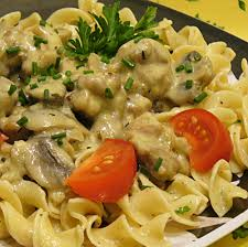 stroganoff noodles