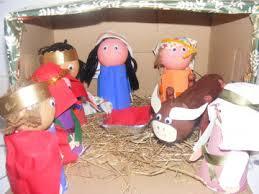handmade nativity
