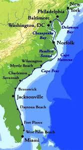 atlantic intracoastal waterway map