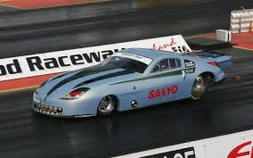 fast drag car