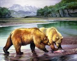 paintings of bears