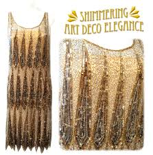 gold beaded dress