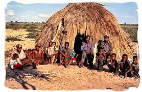 kalahari desert bushmen