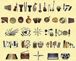 instruments in a band