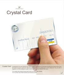 crystal card