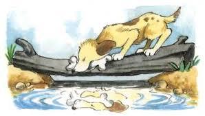 greedy dog story