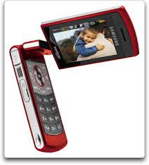 red flip phones
