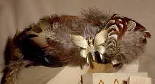 feather tiara
