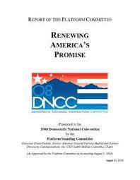 democratic party 2008