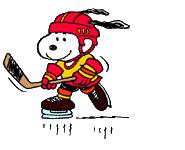 snoopy hockey