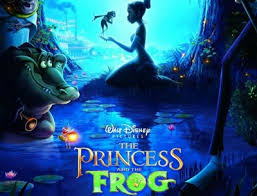 princess and the frog movie poster