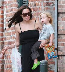 angelina jolie kids pictures