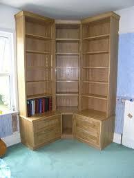 corner book cases