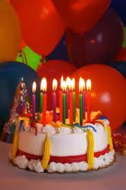 birthday cakes balloons