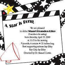 movie theme party invitations