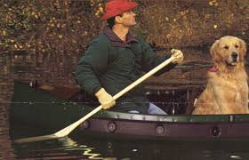 hunting canoes