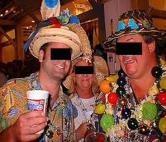 parrot head hats