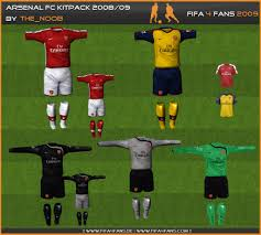 arsenal kit 2009