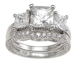 3 stone wedding ring
