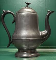 pewter coffee pots