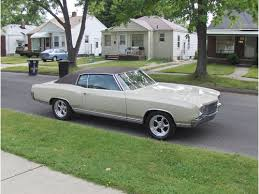 1971 monte carlo for sale