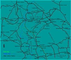map of yorkshire dales