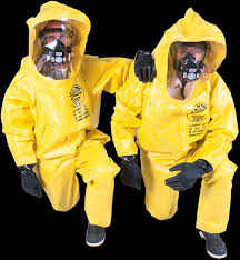 biohazard suits