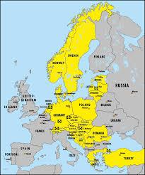 europos zemelapis