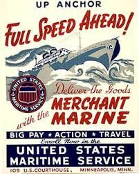 merchant marine poster
