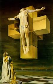 crucifixion by salvador dali
