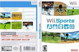 wii sports dvd