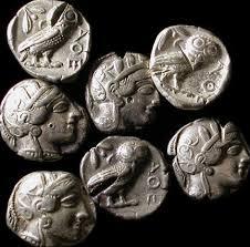 antique greek coins