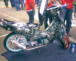 honda wave 100 modified