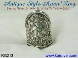 antique silver rings