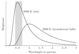 incandescent light spectrum