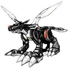 Digimon Adopts Xaki Game MetalGarurumon1