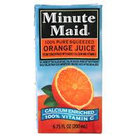 orange juice minute maid