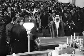 malcolm x funeral pictures