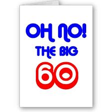 60 birthday card