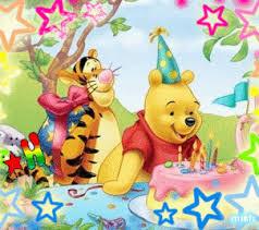 happy birthday pooh