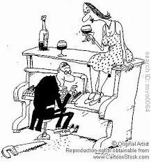 piano cartoons