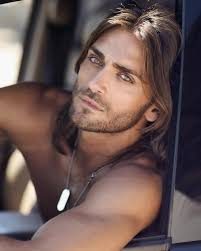 long hair men photos