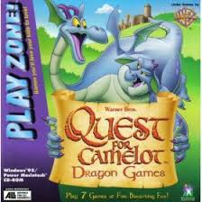 quest for camelot dragon games