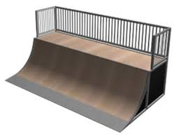 quarter pipe skate