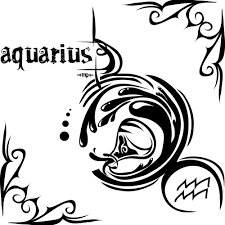 aquarius zodiac tattoos