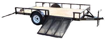 4 wheeler trailers