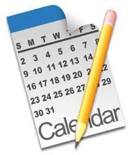 clip art of calendars